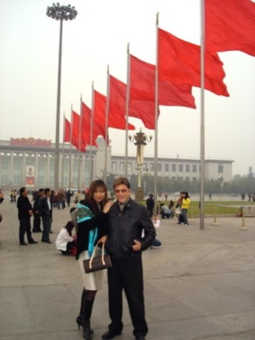 Jesse Cutler and Shirley Beijing Capitol Building