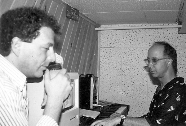 Jesse Cutler and Paul Shaffer
