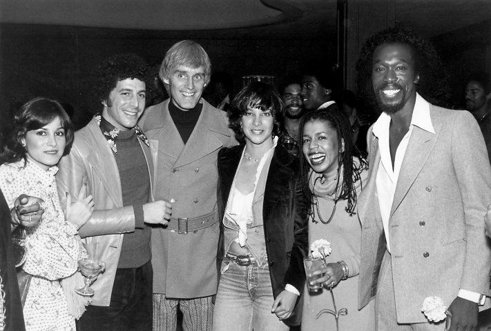 Jesse Cutler with Randy Pitch, Don Ellis, Kathleen Quinlan and Ashford & Simpson