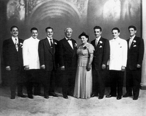 The Gibaldi Family in 1940