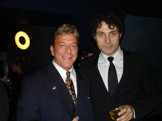 Jesse Cutler and Rufus Sewell