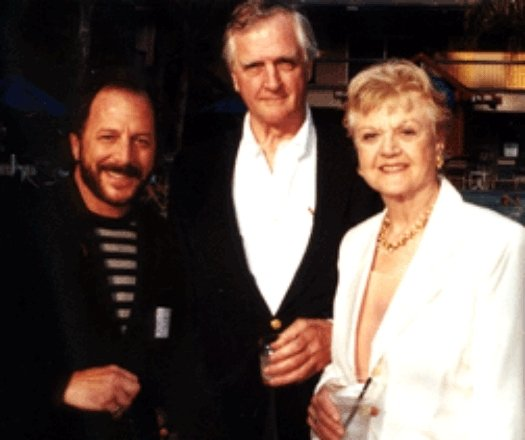 Jesse Cutler and Edgar and Angela Lansbury