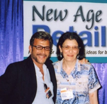 Jesse Cutler and New Age Retailer Ad Director Annette Simon McKenzie